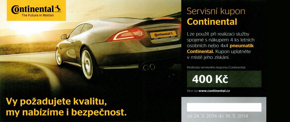 Akce pneu Continental