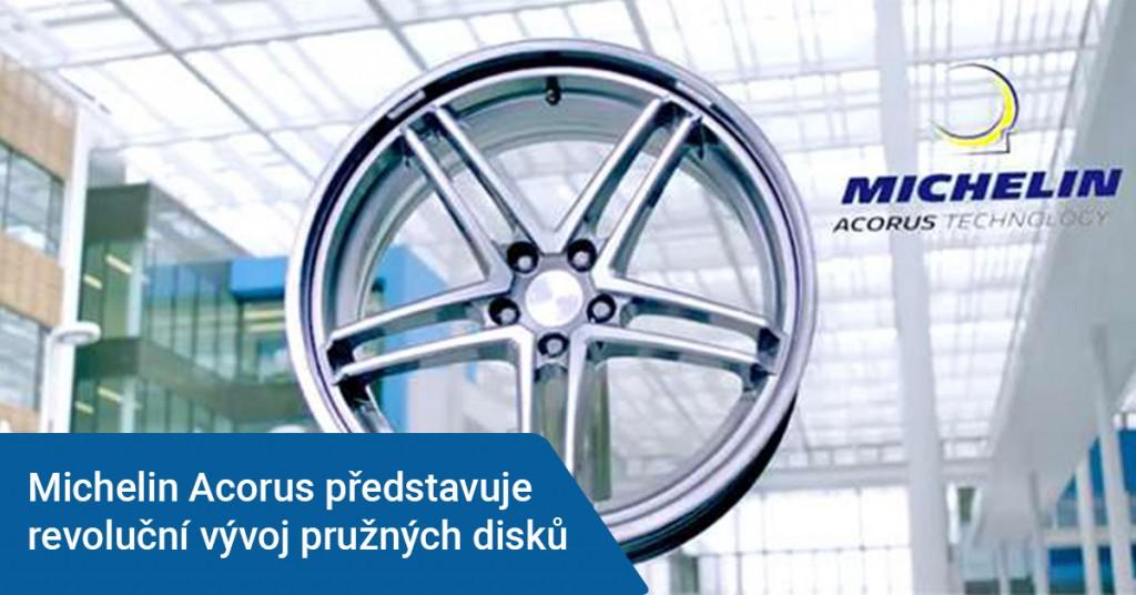 Michelin vyvíjí revoluční pružné disky pneumatik