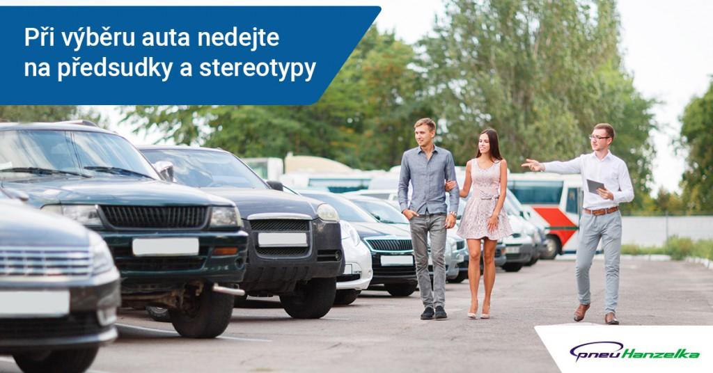 Každý vůz potřebuje kvalitní pneumatiky