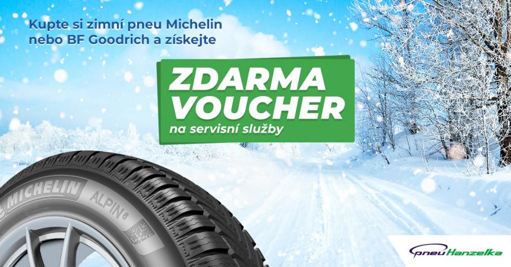 Pořiďte si zimní pneumatiky Michelin
